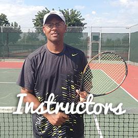 Local tennis instructors