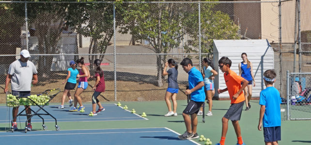 Summer camp offers secret to Benicia High School Panther's tennis success