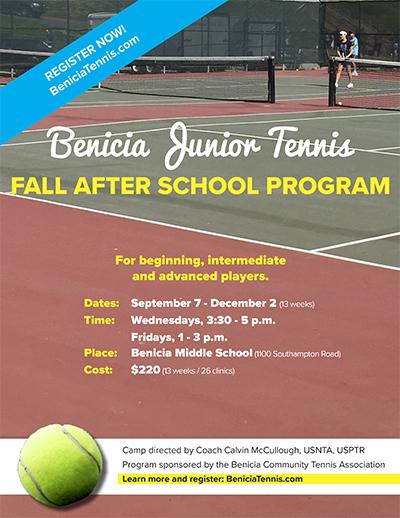 fall after school program flyer