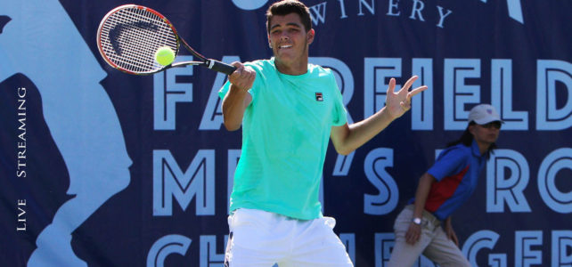Join in! Professional tennis comes to Fairfield