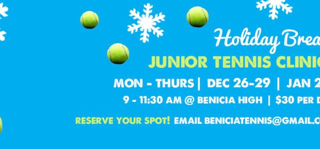 Holiday Break Junior Tennis