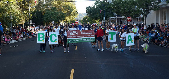 BCTA at Benicia Torchlight Parade
