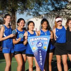 Benicia High School girls tennis finishes season 73-0!