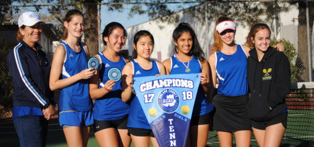 Benicia High School girls tennis finishes season 73-0!