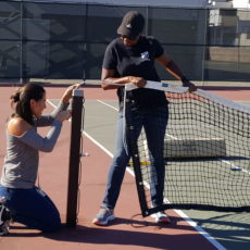 New nets installed at Benicia High School tennis courts