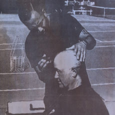 Donetti loses bet, shaves head