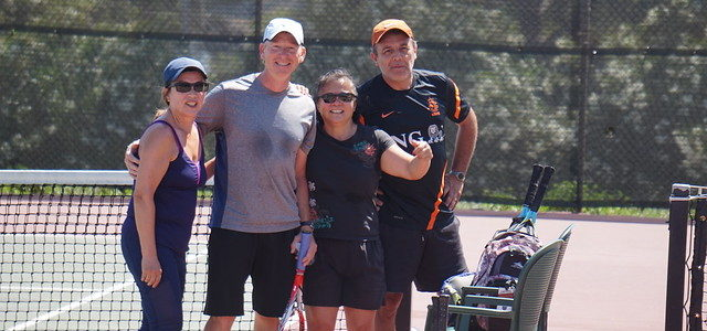 Image of tennis players at Benicia High School