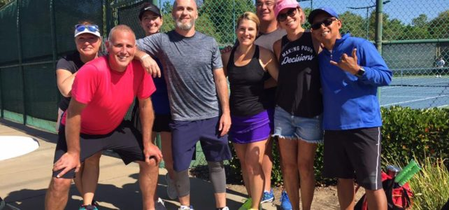 Image of Benicia Tennis' Mixed 8.0 40+ Team