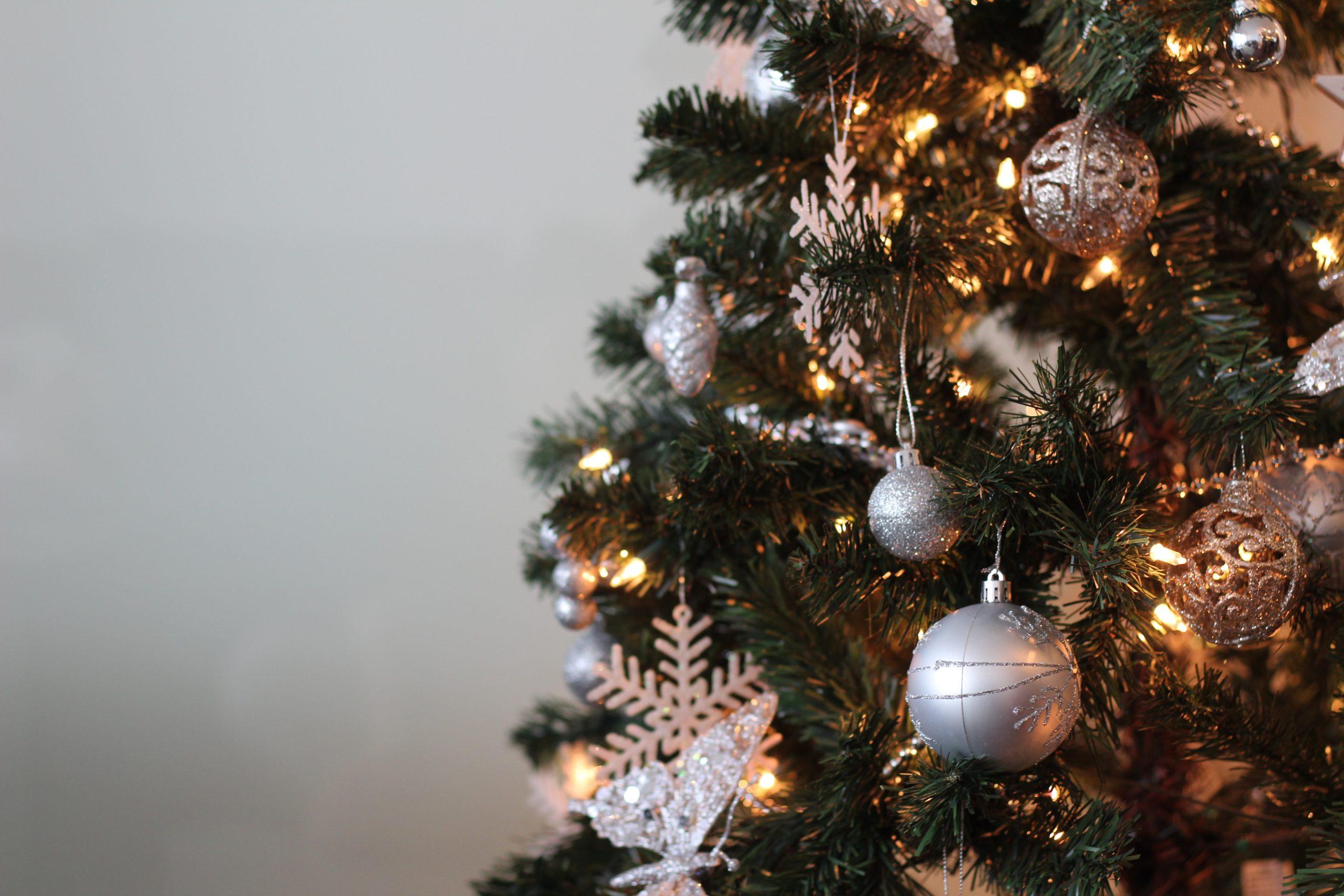 Image of holiday tree.
